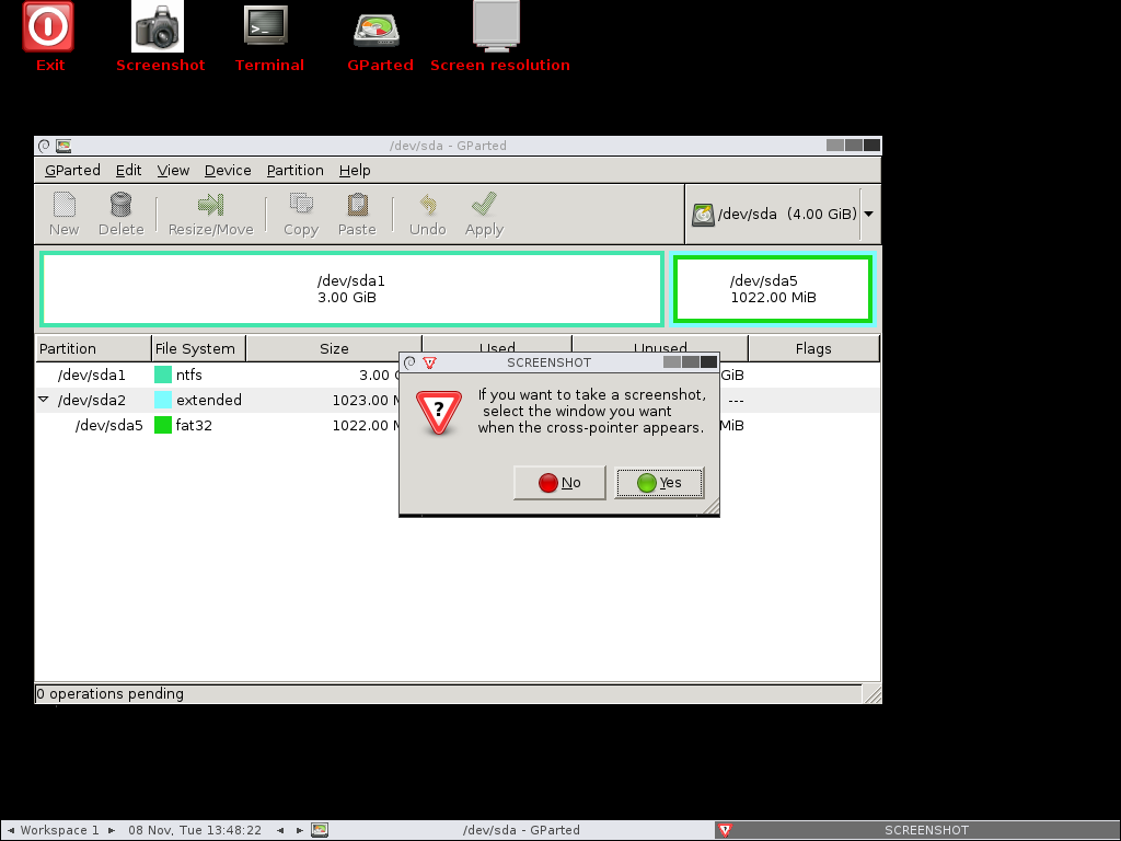 Unzip overwrite all linux live cd